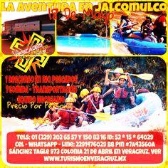 1 día en #Jalcomulco saliendo de #Veracruz http://www.turismoenveracruz.mx/promociones/