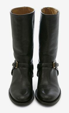 Ralph Lauren Collection Black Boot   VAUNTE
