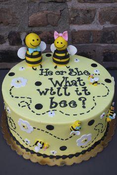 Gender Reveal Cake Idea #2