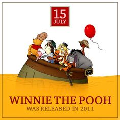 On this date in Winnie the Pooh history...