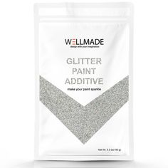 Here is the perfect solution to introduce glitter additive to the specific market. Wellmade glitter can also be used in DIY art and craft or any sparkly finished project along with your imagination. Glitter Paint Additive, Glitter Grout, How To Varnish Wood, Diy Wall Painting, Diy Arts And Crafts, Decorating Tips, It Is Finished, Sparkle, Make It Yourself
