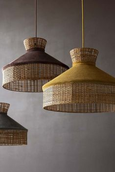 This gold mustard velvet & rattan ceiling light will add a splash of stylish statement lighting to any room you feature it in. Gold Ceiling Light, Ceiling Light Design, Ceiling Lights, Rattan Pendant Light, Ceiling Pendant, Pendant Lighting Bedroom, Pendant Lamps, Pendant Lights, Dark Brown Walls
