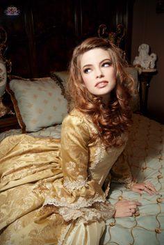 Images Baroque | baroque, beautiful, beauty, curly hair, dress, girl - inspiring ...