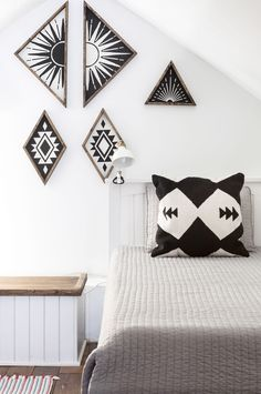The wall panels are from Northwood Supply on Etsy.