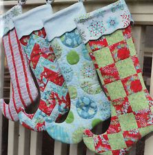 PATTERN - Jingle - whimsical Christmas stocking PATTERN - Amanda Murphy