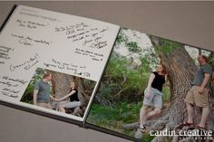 photo guest books for weddings   Wedding Trend Guest Book Albums 2 Wedding Trend: Custom Guest Books