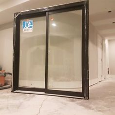 Unused Patio Door
