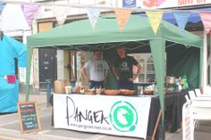 Pangea stall in Brixton Market