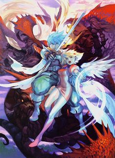 #BreathOfFire 3 Art & Pictures - PSP Box Art