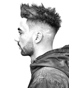 Messy Wavy Mens Undercut With Skin Fade Hairstyle