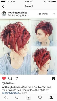 Arya hairstyle best hairstyle for curly hair female,pixie hairstyles prom platinum blonde hair kim kardashian,funky hairstyles cool loose curls for medium length hair. Funky Hairstyles, Short Hairstyles For Women, Hairstyles 2018, Hairstyle Short, Long Pixie Hairstyles, Daily Hairstyles, Short Pixie Haircuts, Short Hair Cuts, Red Pixie Haircut