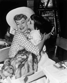 Lucille Ball and  Liza Minnelli