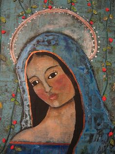 """My dear Mother Mary, I think that I am more happy than you. I have you as a Mother and your haven't the Blessed Virgin to love as I have.""  St Terase"
