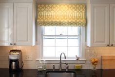 I might just have to make this simple shade for my fake kitchen window :)