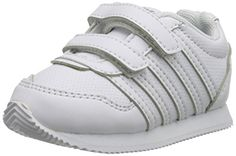 wow k-SWISS New Haven S Strap Sneaker (Infant/Toddler)