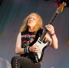 Janick Gers - Iron Maiden