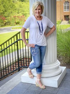 Unique Outfits, Fall Outfits, Cute Outfits, Fashion Outfits, Women's Fashion, Casual Outfits, Cookout Outfit, 50 Is Not Old, Twist Front Top