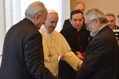 Papa nombra a Salvador Moncada miembro de Academia del Vaticano  El científico hondureño participó de una sesión plenaria encabezada por el Sumo Pontífice sobre cambio climático. - Diario La Prensa