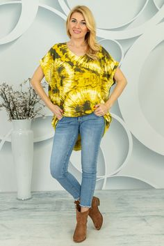 Oversizowa bluzka Centola Spring Collection, Tie Dye, Street Style, Blouse, Women, Fashion, Tunic, Moda, Urban Style