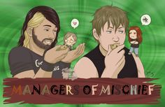 Managers of Mischief by Nooneym on DeviantArt.