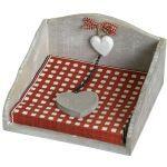 Wood Napkin Holder  £9.99