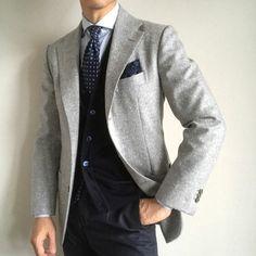 How to Wear Blue & Gray: A Classic Menswear Color Combination — Gentleman's Gazette