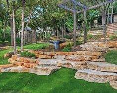 Beautiful tiering  by Pearson Landscape Services
