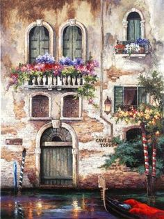 Door to Italy Digital Print