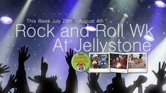 Come join us July 29th-August 4th for Rock and Roll week! Rock on with Yogi Bear he would love to see you! www.jellystonemarion.com