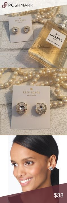 NEW!! 5⭐️Kate Spade Large Crystal Gumdrop Earrings NEW!!! Kate Spade Large Crystal Gumdrop Earrings. 14k Gold Plated. Price is Firm Unless Bundled. 2 items 10% Off 3 Items 15% Off kate spade Jewelry Earrings