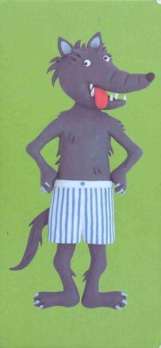 Modèle loup à habiller Wolf, Preschool, Animation, Art, Piglets, Autism, Manualidades, Fox, Learning Through Play
