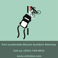 Why do #cyclists get hit so frequently?   If you have been injured in an accident? Contact Fort Lauderdale #Bicycle Accident Attorney at (954)-740-8331