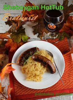 Sheboygan Hot Tub Bratwurst
