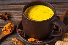 Maharishi Ayurveda, Acid Reflux Treatment, Stress Food, New Recipes, Favorite Recipes, Turmeric Milk, Turmeric Health Benefits, Plant Based Milk, Golden Milk