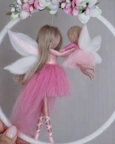Wool Dolls, Felt Dolls, Fairy Crafts, Doll Crafts, Travel Crafts, Needle Felting Tutorials, Felt Fairy, Paper Crafts Origami, Baby Sewing Projects