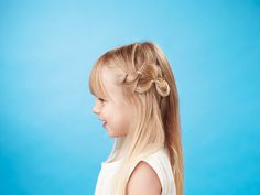Have your daughter's hair ready for school or a special occasion in minutes with one of these simple kids' hairstyles .