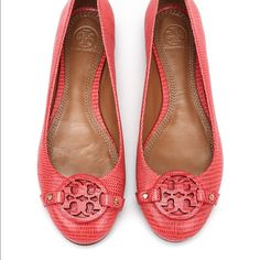 Tory Burch • Red Minnie Miller Ballet Flats Absolutely adorable and hardly worn! Tory Burch Shoes Flats & Loafers