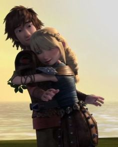 Hiccstrid is adorable. Hiccup And Toothless, Hiccup And Astrid, Toothless Dragon, Dreamworks Dragons, Disney And Dreamworks, Hicks Und Astrid, Gogo Tomago, Httyd 2, Dragon Trainer