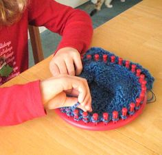 knifty knitter loom how to videos!