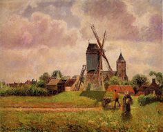 Vincent van Gogh: The Oil Paintings: View of Montmartre with Windmills. Description from pinterest.com. I searched for this on bing.com/images