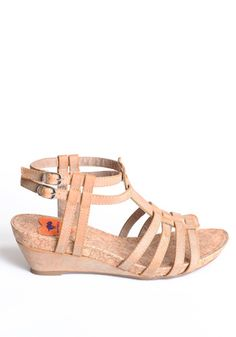 1746f371d Capri Sandal Wedges by Rocket Dog  56.00  39.50 Stylish tan colored sandal  wedges with a slightly