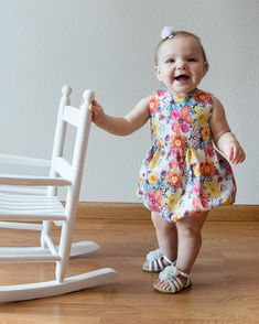 b207234f926c Baby Saylor s Squared Bow Back Top  amp  Dress. Downloadable PDF Sewing  Patterns for Baby