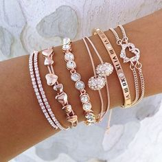 Rose Gold Everything Stack