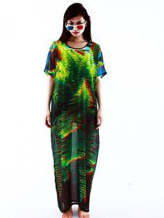 3D Print Maxi Dress | Nouio - want!