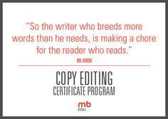Professional copy editing