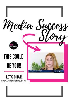 With the help of PR For Anyone, a client successfully landed in the media with her business. This could be you next! #mediasuccess #media #PR #PRsuccess #mediaattention #publicity #successstory Public Relations, Case Study, The Help, Success, Posts, Let It Be, Business, Blog, Messages