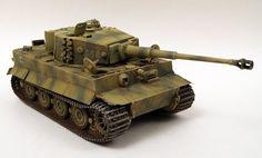 Sd.Kfz.181 Panzerkampfwagen VI Tiger Ausf.E Tiger I Heavy Tank (Germany)