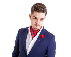 44 Astonishing Ascot Tie Ideas For Amazing Mens Style That Will Inspire You - I absolutely would sport an ascot if I were male. Limited men's choices in formal wear call for setting yourself apart by wearing an ascot. Business Casual Men, Business Formal, Men Casual, Tie A Necktie, Cravat Tie, Ascot Outfits, Ascot Ties, Smoking Jacket, Moda Masculina