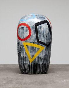 Untitled (Dango), 2012, by Jun Kaneko