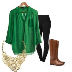 """""""Green Envy"""" by cowgirlp90 on Polyvore, #USF"""